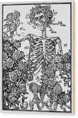 Omar Khayam: Rubaiyat Wood Print by Granger