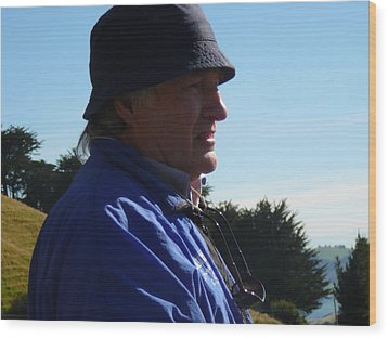 On Location Otago Peninsula Wood Print by Terry Perham