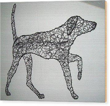 On Point Wood Print by Charlene White