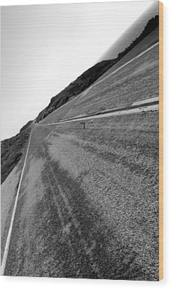 On The Road Wood Print by Steve Parr