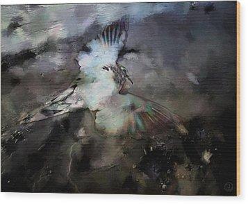 Once He Flew High Wood Print by Gun Legler