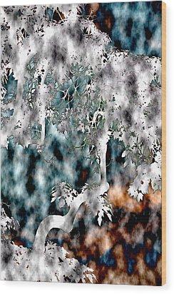 Once Upon A Tree Wood Print by Elizabeth  Doran