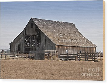 Once Was New Wood Print by Larry Keahey