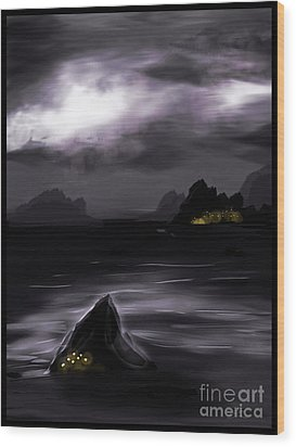 One Dark Night Wood Print by J Kinion