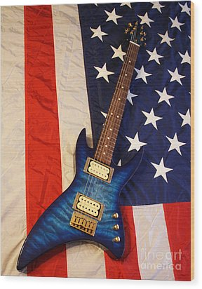 One Of A Kind...  Made In The U. S. A. Wood Print by Tony Cooper