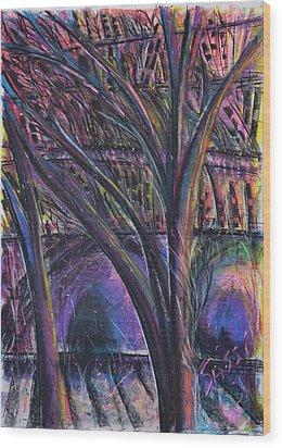 Onlooker Wood Print by Robert M Sassi