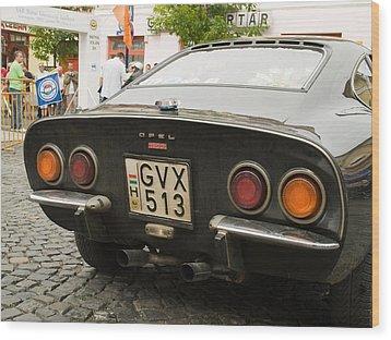 Opel Car Wood Print by Odon Czintos