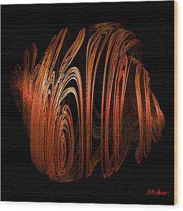 Orange Peel Wood Print by Michael Durst