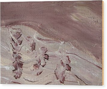Orchid River Wood Print