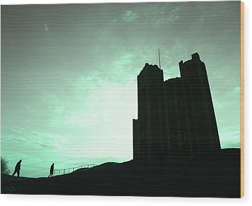 Orford Castle Wood Print by David Harding