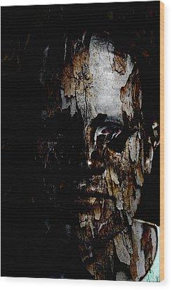 Organic Metamorphosis Wood Print by Christopher Gaston