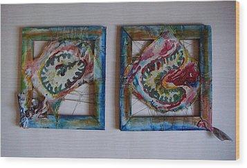 Organic Wood Print by Neda Laketic