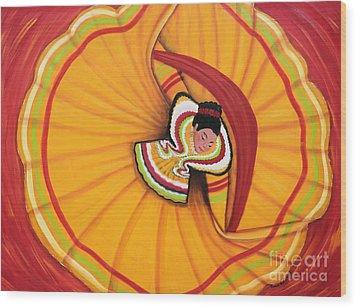 Orgullo Mexicano Wood Print
