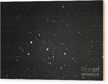 Orions Belt Wood Print by Stephen Whisman