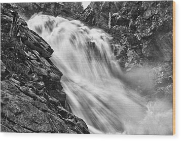 Osterbro Falls Wood Print by A A