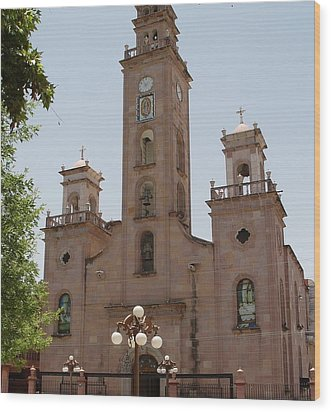 Our Lady Of Guadalupe Piedras Negras Mexico Wood Print
