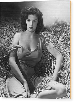 Outlaw, Jane Russell, 1943, Cleavage Wood Print by Everett