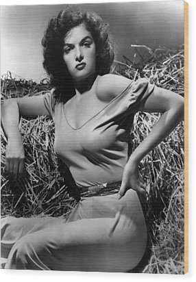 Outlaw, The, Jane Russell, 1943 Wood Print by Everett