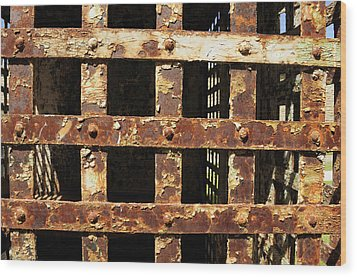 Wood Print featuring the photograph Outside Looking In by Fran Riley