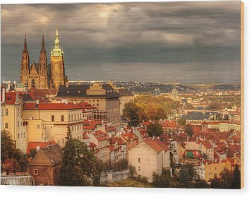 Overlook Prague Wood Print by John Galbo