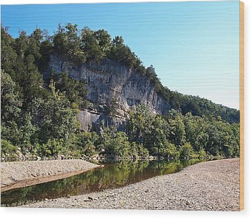 Ozark Bluffs Wood Print by Jim Goldseth