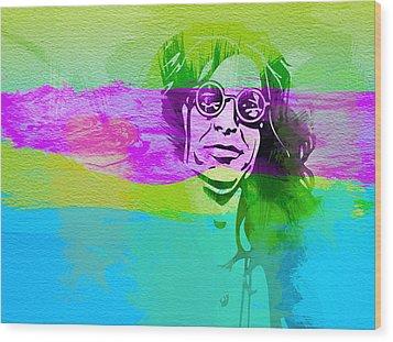 Ozzy Osbourne Wood Print by Naxart Studio