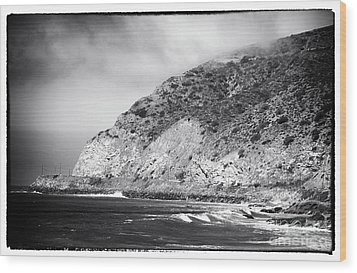 Pacific Coast Highway View Wood Print by John Rizzuto