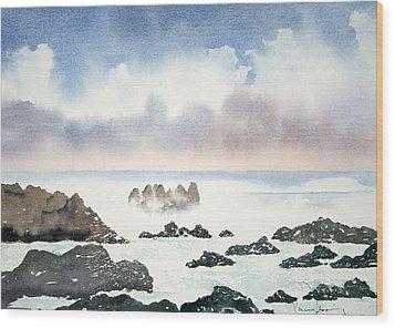 Pacific Ocean Wood Print