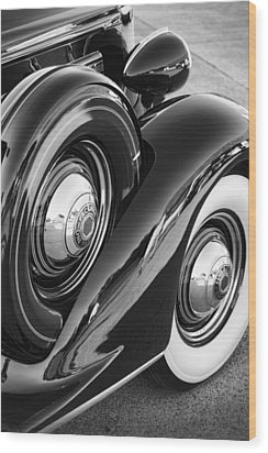 Packard One Twenty Wood Print by Gordon Dean II