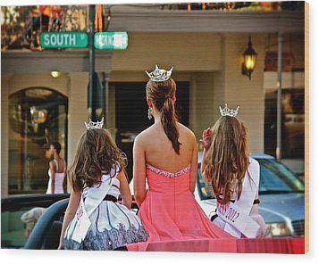 Pageant South Wood Print