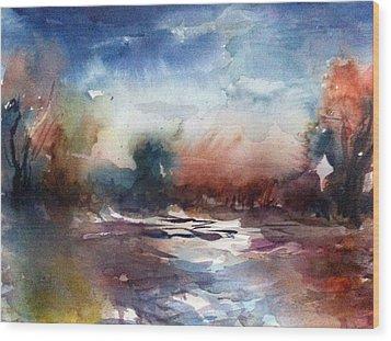 Painland #34 Wood Print