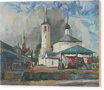 Paints Of Old Suzdal Wood Print