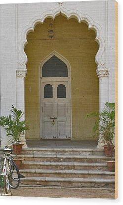 Wood Print featuring the photograph Palace Door by David Pantuso