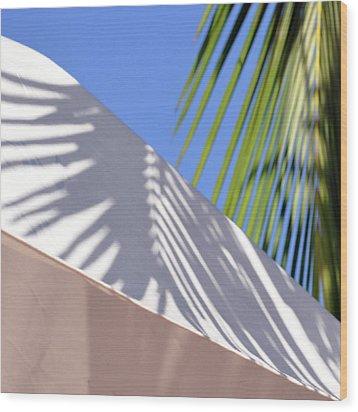 Palm Leaf Wood Print by SteffenTuck