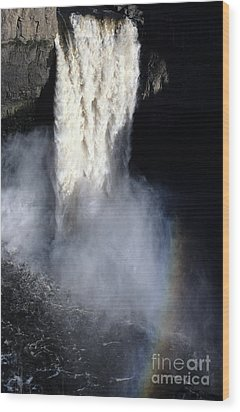 Wood Print featuring the photograph Palouse Falls by Sharon Elliott