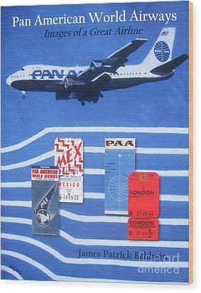Pan American World Airways Wood Print by Lesley Giles