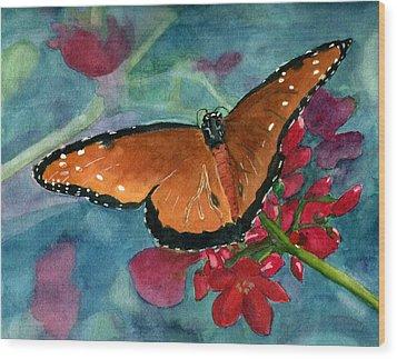 Papilio Fandango  Wood Print by Lynne Reichhart