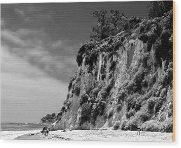 Paradise Cove Wood Print by April Reppucci