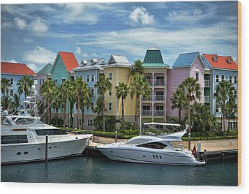 Wood Print featuring the photograph Paradise Island Style by Steven Sparks