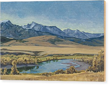 Paradise Valley Wood Print