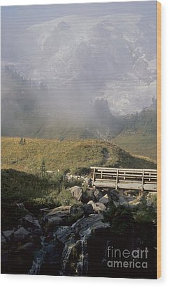 Wood Print featuring the photograph Paradise Valley by Sharon Elliott