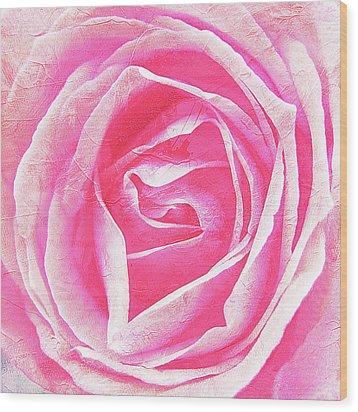 Parfume Of Roses Wood Print by Susanne Kopp