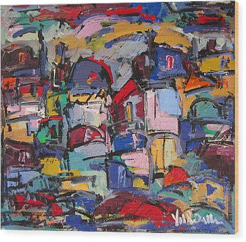 Paris 57 Wood Print