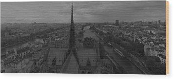 Paris Dh 1 Wood Print by Wessel Woortman