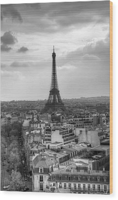 Paris No. 4 Wood Print by Ryan Wyckoff