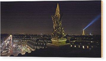 Paris Opera House Wood Print
