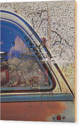 Passenger Side Ride Guild  Wood Print by Jerry Cordeiro