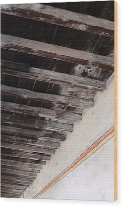 Past Looking Up  Wood Print by Viktor Savchenko