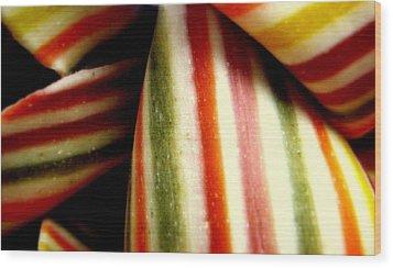 Pasta Art Wood Print by Bruce Carpenter