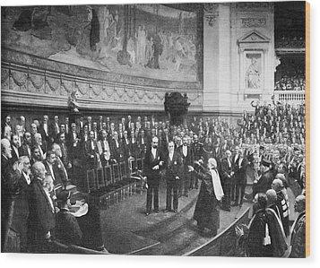 Pasteur's Jubilee Celebrations, 1892 Wood Print by
